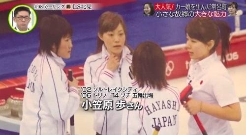 3月3日 追跡 LIVE! SPORTS ウォッチャー カーリング オリンピック3回小笠原歩