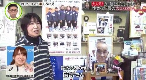 3月3日 追跡 LIVE! SPORTS ウォッチャー カーリング LS北見 鈴木夕湖の母