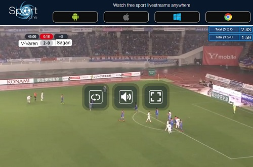 Jリーグのストリーミング視聴方法 操作方法