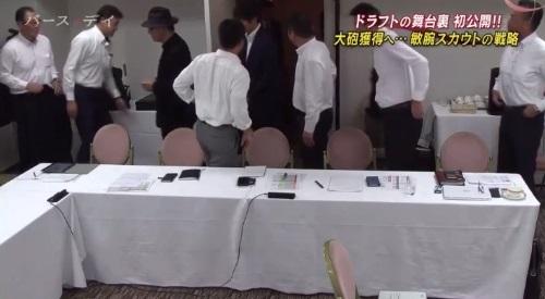 TBS バース・デイ 楽天イーグルス 球団スカウト ハットを被った星野仙一