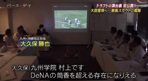 TBS バース・デイ 楽天イーグルス 球団スカウト 九州学院 村上評