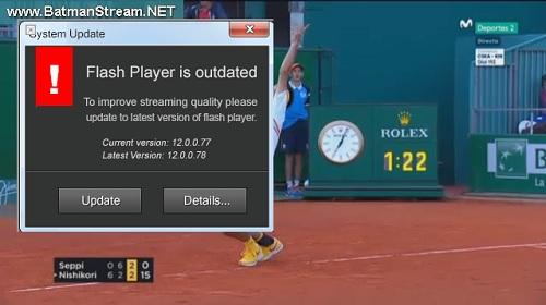 テニス 海外 無料視聴 方法 StreamHunter 視聴画面