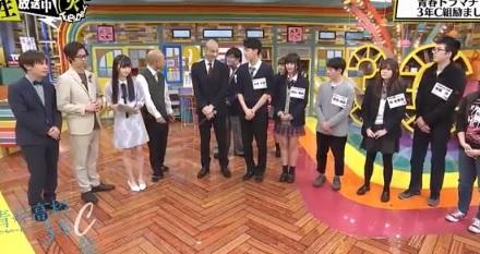 第12回「青春高校 3年C組 火曜日」担任:バイきんぐ小峠。乳首の高さが合わないってどういう事?