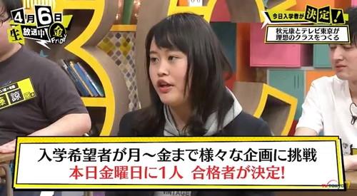 第5回「青春高校 3年C組 金曜日」 トーマス(大下美瑠)