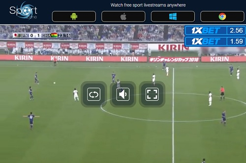 日本代表 サッカー国際親善試合 画面操作 ネット視聴方法