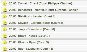 錦織圭、大坂なおみ、R・ナダル出場の全仏オープンの試合をネットのライブストリーミング放送で無料視聴するには
