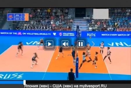 FIVBバレーボール・ネーションズリーグ(女子・男子)の全試合をネットのライブストリーミング放送で無料視聴するには ライブ配信への戻し方