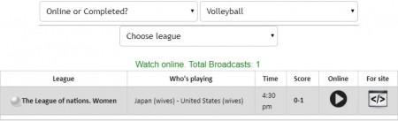 FIVBバレーボール・ネーションズリーグ(女子・男子)の全試合をネットのライブストリーミング放送で無料視聴するには mylivesportの使い方