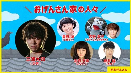 第2回 NHK「おげんさんといっしょ」出演者リスト