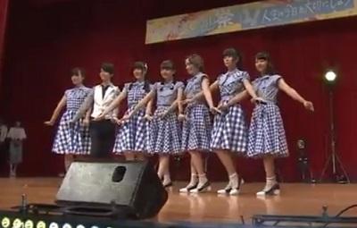 青春高校 文化祭 アイドル部「Blue Spring」♪チャイムの途中で ステージ衣装