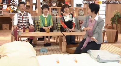 ペットボトル湯たんぽ NHK「ごごナマ」