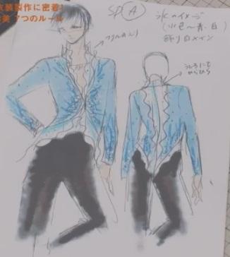 セブンルール フィギュアスケート衣装デザイナー 伊藤聡美 羽生結弦 ショートプログラム用衣装のデザイン画