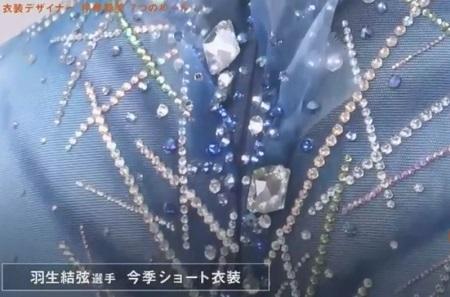 セブンルール フィギュアスケート衣装デザイナー 伊藤聡美 羽生結弦 208-19年シーズン ショート衣装
