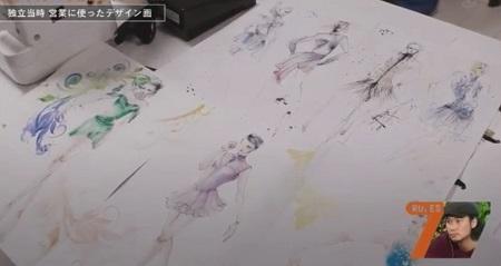 セブンルール 伊藤聡美 独立当時に営業で使用した昔のデザイン画