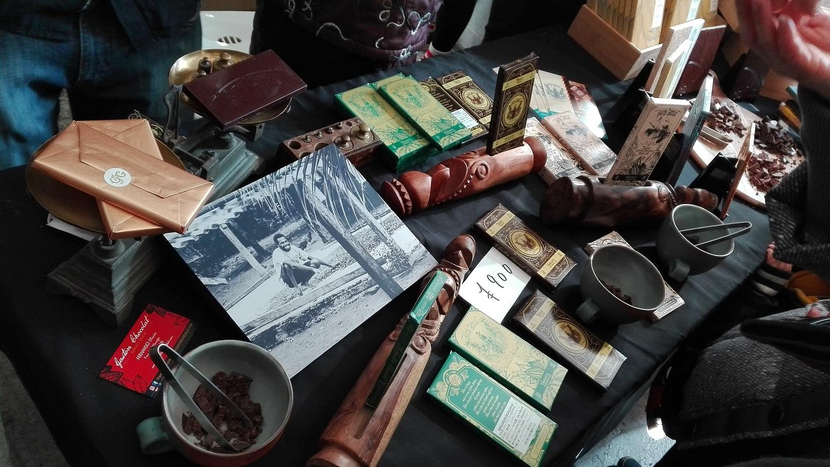 Craft Chocolate Market 2019 The Fleming House 1月19日 バヌアツ Gaston Chocolat