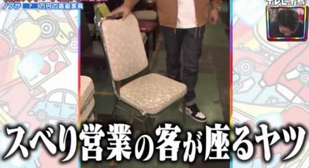 テレビ千鳥 SP 買い物千鳥 ノブの家具 スベり営業の客が座るヤツ