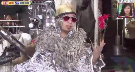 テレビ千鳥 SP 買い物千鳥 大悟の春服 銀の服にヘルメットにサングラスに爪のアクセサリー