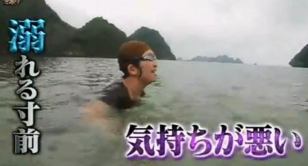 「イッテQ遠泳部第3弾」女芸人SP!ロケ初日の練習「溺れる寸前。加えて気持ちが悪い」とディスられるたんぽぽ川村