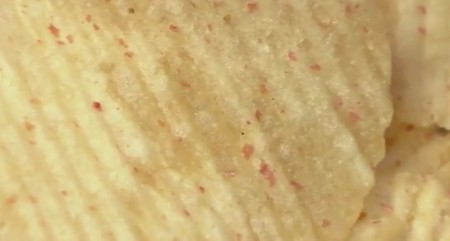 ガキの使いのカルビーポテトチップス食べ尽くし企画!明太子バターの表面