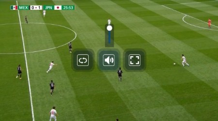 FIFA U-20 サッカーワールドカップ ポーランド大会2019全試合をネットの無料ライブストリーミング放送で視聴するには mylive 日本代表戦 操作画面