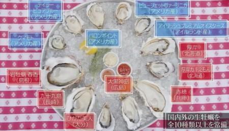 竹内結子の牡蠣への愛が止まらないエピソードがかわいい。竹内結子オススメのオイスターバー、グランド・セントラル・オイスターバー&レストランの生牡蠣ラインナップ