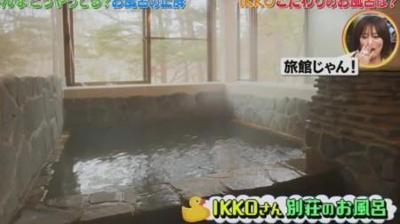 第72回「石橋貴明のたいむとんねる」お風呂の入り方特集。IKKO別荘のお風呂画像