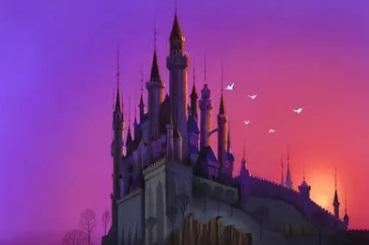 ディズニーのシンデレラ城、眠れる森の美女の城のモデルと言われているドイツ・ノイシュヴァンシュタイン城 映画版