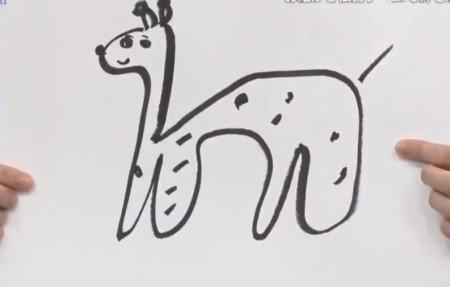 第411回「青春高校3年C組 金曜日」お絵かき伝言ゲーム 前川のキリン