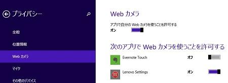 Lenovo X250でWebカメラが動かない時のチェックポイント3つ PC設定 Webカメラ