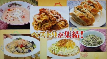 タモリ倶楽部で披露されたタモリレシピ集ベスト9とは?料理画像