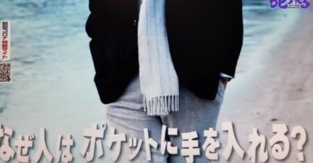 なぜ人はポケットに手を入れる?理由は不安?第97回 NHK「チコちゃんに叱られる!」より