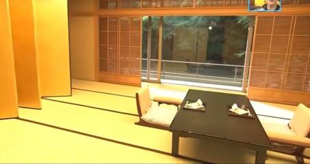 ぴったんこカンカンの半沢直樹ロケ地巡りで紹介されたお店リストは?ホテル椿山荘 料亭錦水