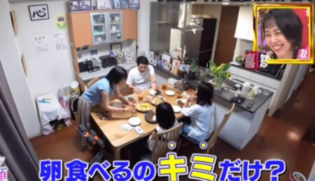 ゴゴスマMC石井亮次の一日密着で分かる自宅 娘2人と一緒に家族でご飯