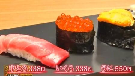 """出川哲朗の行きつけの店は""""すしざんまい""""のどの店舗?頼む寿司メニューは?3種"""