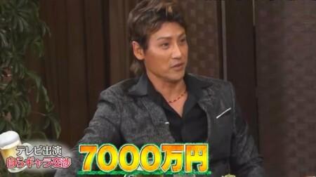 新庄剛志は10本の仕事でギャラ総額7000万円。ダウンタウンなう