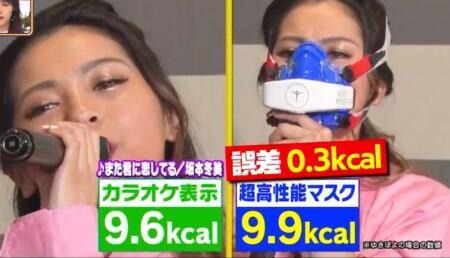 林先生の初耳学で検証!カラオケの消費カロリー表示はホントに正確か科学実験