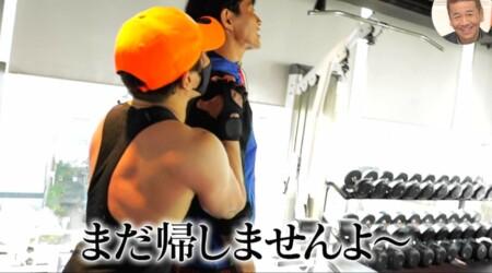 おしゃれイズム 西川貴教の筋トレメニュー公開!まだ帰しませんよ