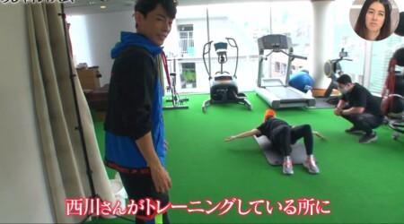 おしゃれイズム 西川貴教の筋トレメニュー公開!ストレッチポールでウォームアップ