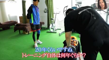 おしゃれイズム 西川貴教の筋トレメニュー公開!肩甲骨のコンディショニング