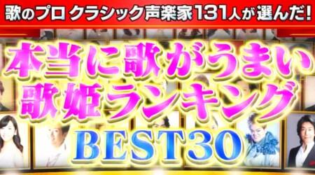 声楽家が選ぶ史上最も歌が上手い女性歌手ランキングトップ30 歌唱力No1歌姫は誰?