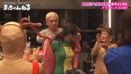 第1回 女子メンタル 優勝者は峯岸みなみ 松ちゃんからピンクジャケット贈呈