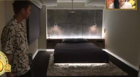 EXILE SHOKICHIの自宅 エロいベッドルーム