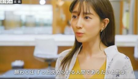 NHK プロフェッショナル 田中みな実名言集 求められる人間