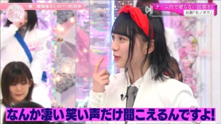 そこ曲がったら櫻坂 魔女の宅急便キキのリボン状態の森田ひかるがかわいい