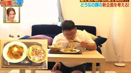 それって実際どうなの課 勉強で頭を使うとダイエット効果はホント?2日目の食事
