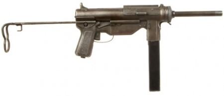 ルパン三世 カリオストロの城 カジノ襲撃シーンで登場する銃はM3A1 グリースガン