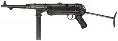 ルパン三世 カリオストロの城 カリオストロ伯爵を守る「カゲ」の銃はMP40