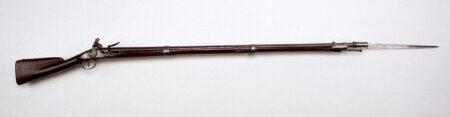 ルパン三世 カリオストロの城 ナポレオン軍が持っている銃はシャルルヴィル・マスケット銃剣付き