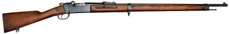 ルパン三世 カリオストロの城 地下迷宮の床に落ちているそれらしき銃ルベルM1886小銃
