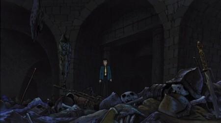 ルパン三世 カリオストロの城 地下迷宮の残骸状態のMG42
